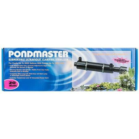 Pondmaster submersible ultraviolet clarifier sterilizer for Koi pond uv sterilizer