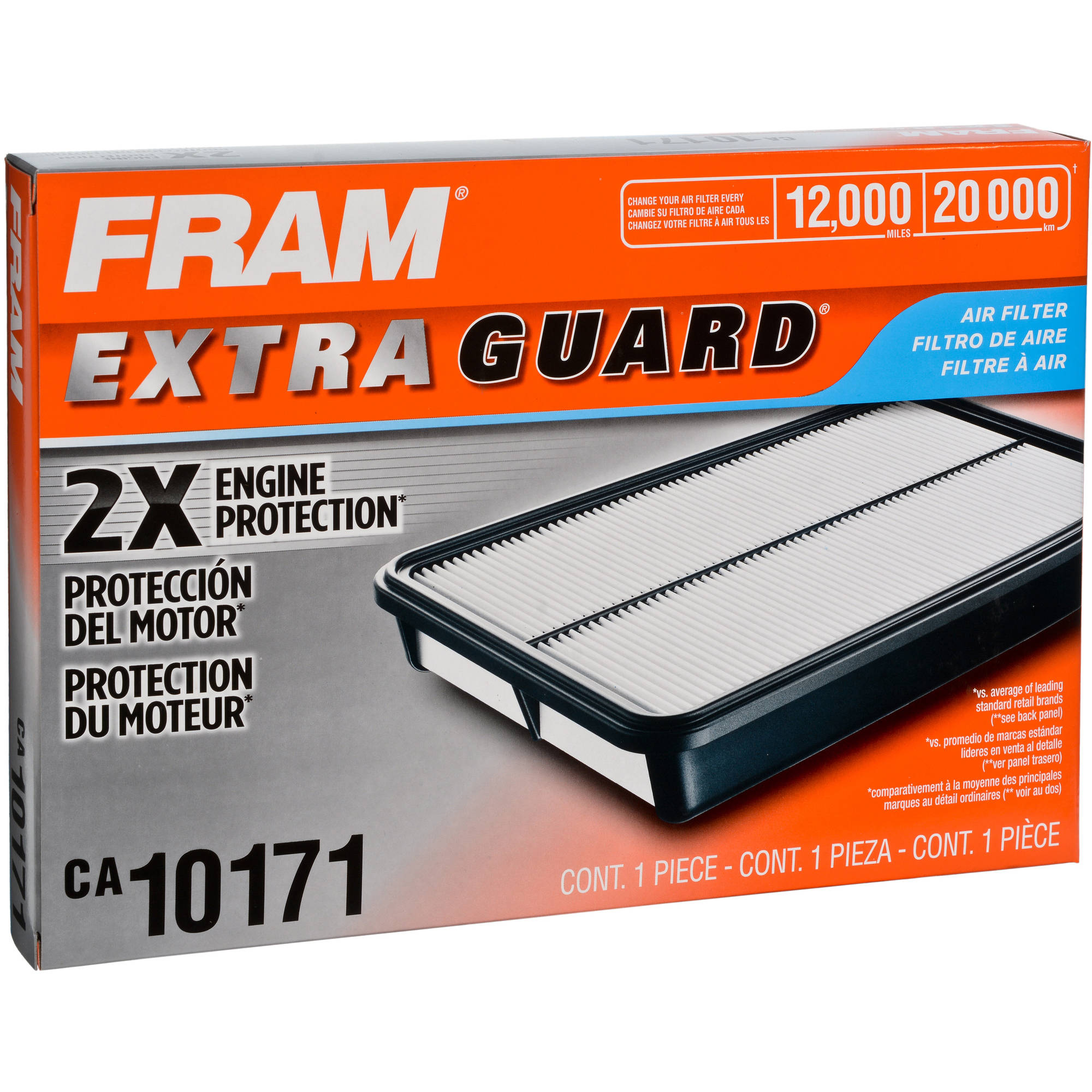 FRAM Extra Guard Air Filter, CA10171