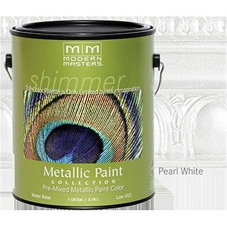 MODERN MASTERS Metallic Paint #196 Sheer Pearl White/GAL