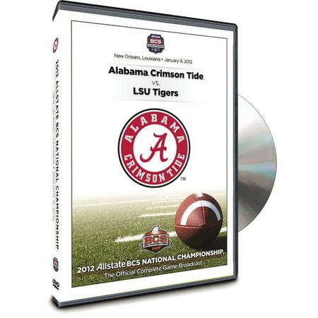 2012 Allstate BCS National Championship Game (DVD) Bcs National Championship Tickets