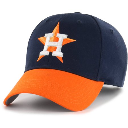 MLB Houston Astros Reverse Basic Adjustable Cap/Hat by Fan Favorite - Hot Navy Girls