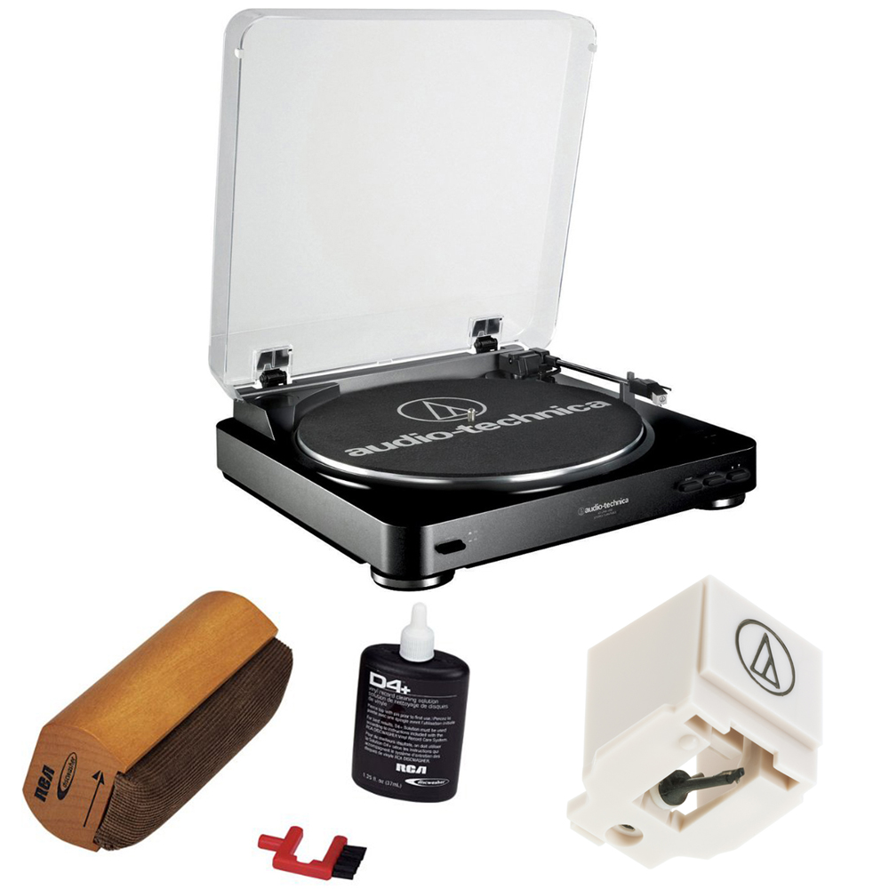 Audio-Technica Fully Automatic Stereo Turntable System- Black by Audio-Technica