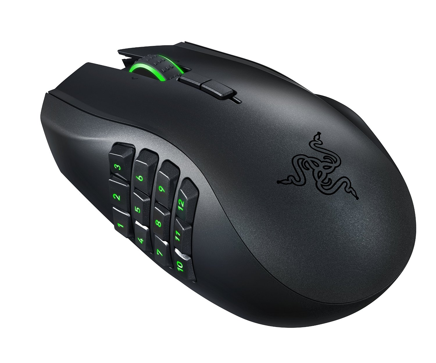 Razer Naga Epic Chroma Multi-Color Wireless MMO Gaming Mouse with 19 Buttons and 8200 dpi (RZ01-01230100-R3U1) by Razer