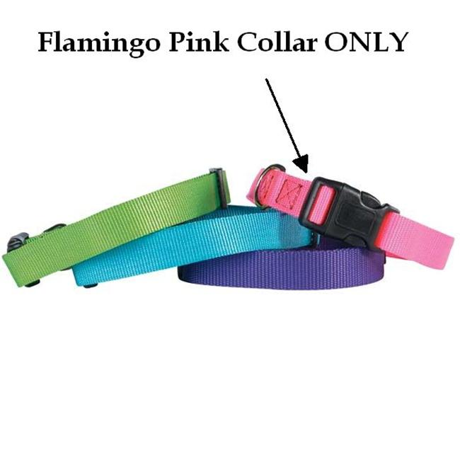 Pet Pals TP801 18 33 Guardian Adj Cllr 18-26 x 1 In Flamingo Pink
