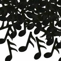 Gold Music Note Confetti
