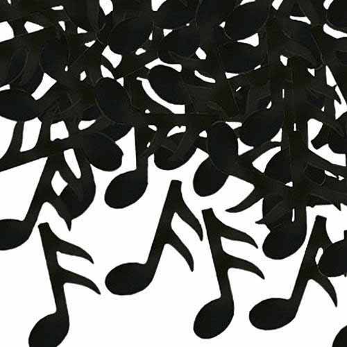 50 Gold Musical Note Confetti-wedding//party//celebration-card-buy 3 get 1 FREE