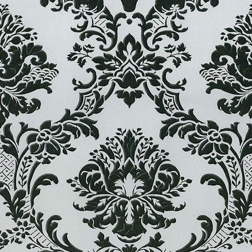 Norwall Wallcoverings Inc Silk Impressions 32.7' x 20.5'' In Reg Classic Damask Wallpaper