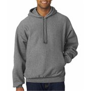 Weatherproof 7700 Adult Cross Weave Hooded Sweatshirt - Graphite, Large