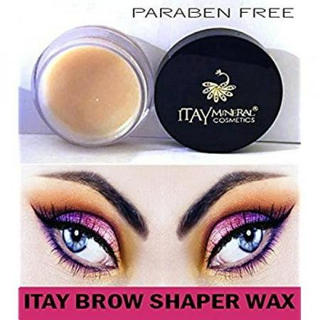 Itay Beauty Paraben Free Defining Eye Brow Shaper Wax Primer (To Use with Fibers or Powder) (Powder Wax)