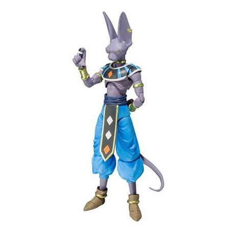 SH Figuarts Dragon Ball Z: Battle of Gods - Beerus Action Figure by Bandai (Dragon Ball Z Battle Of Gods Eng)