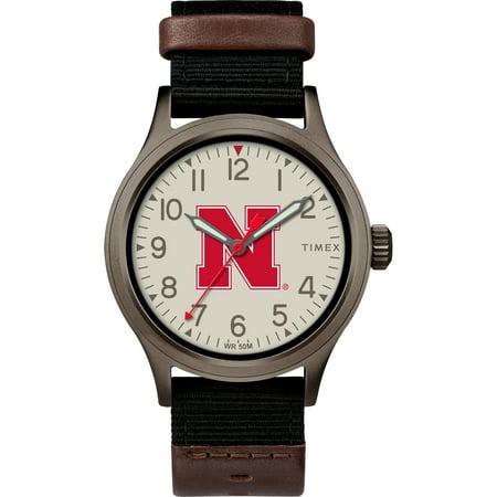 (Timex - NCAA Tribute Collection Clutch Men's Watch, University of Nebraska Cornhuskers)