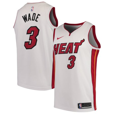 Dwyane Wade Miami Heat Nike Replica Swingman Jersey - Association Edition - White Replica Miami Heat Jersey