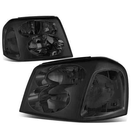 06 Envoy Xl Model (For 2002 to 2009 GMC Envoy Headlight Smoked Housing Clear Corner Headlamp STL XL 03 04 05 06 07 08)