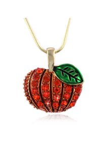 a74b28cf6 cocojewelry Pumpkin Pendant Thanksgiving Halloween Fall Jewelry · Coco  Jewelry
