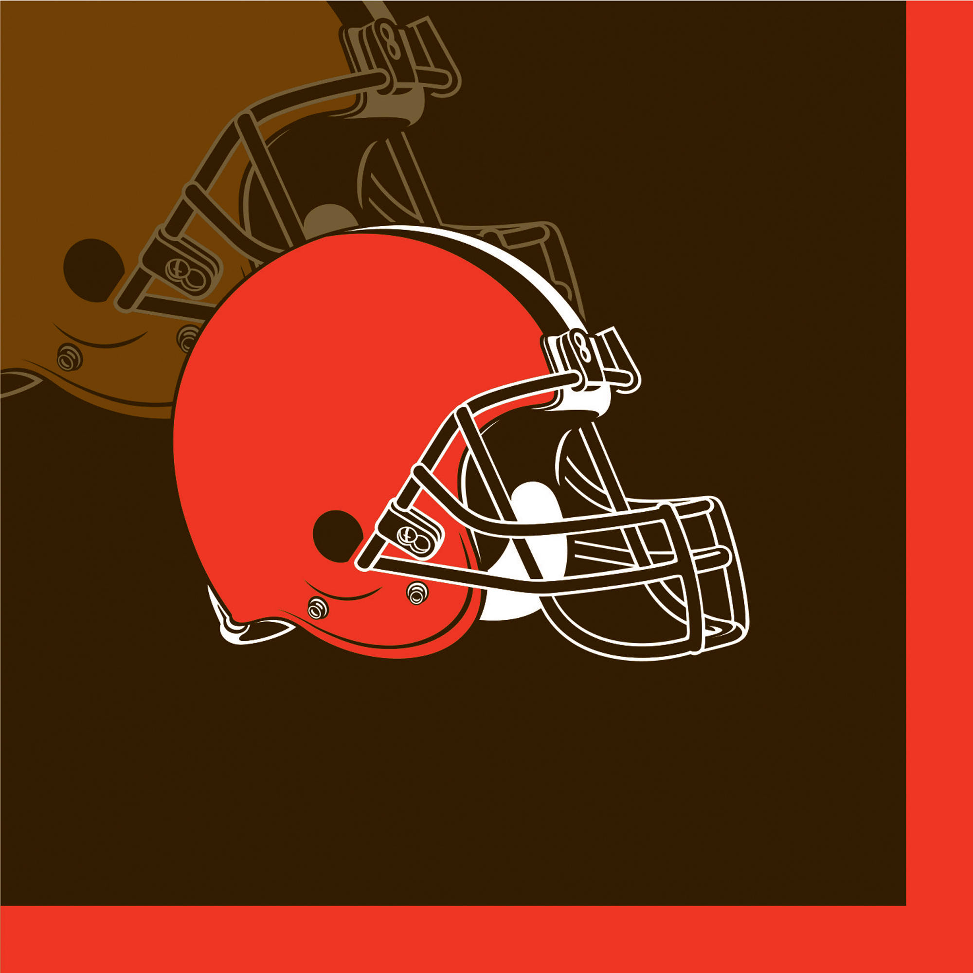 Cleveland Browns Beverage Napkins, 16-Pack