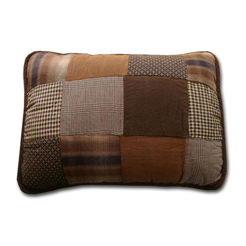 Greenland Home Fashions Asher Cabin Decorative Cotton Shell Throw Pillow