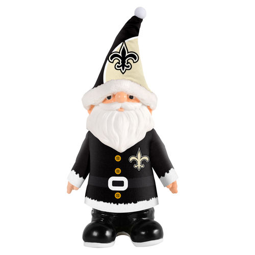 New Orleans Saints Santa Gnome