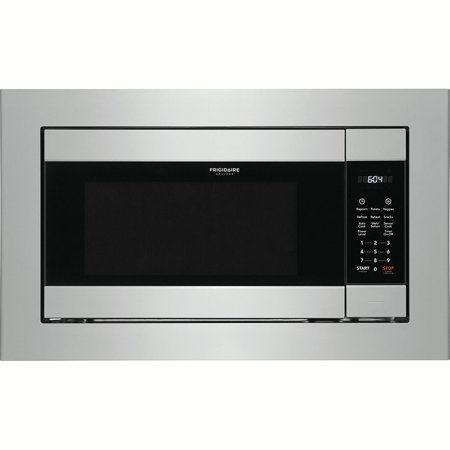 Frigidaire Gallery FGMO226NUF 2.2 Cu. Ft. Stainless Built-In (24 Built In Microwave Oven With Trim Kit)