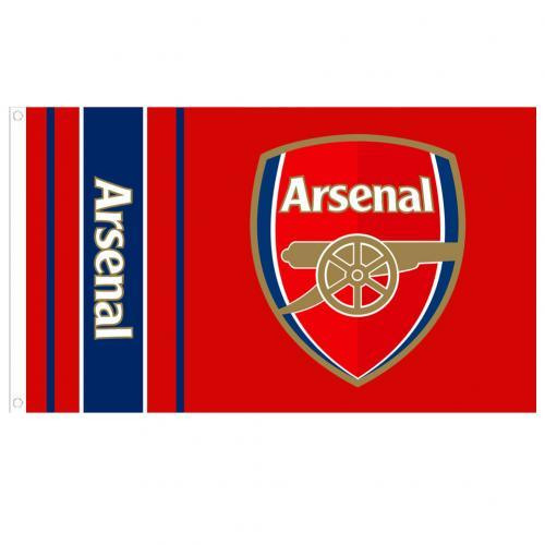 Custom LEGO Football Soccer Arsenal Flag