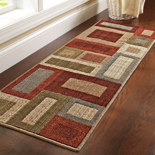 Better Homes And Gardens Franklin Squares Olefin Runner
