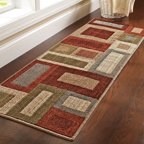 Better Homes and Gardens Franklin Squares Olefin Runner Rug