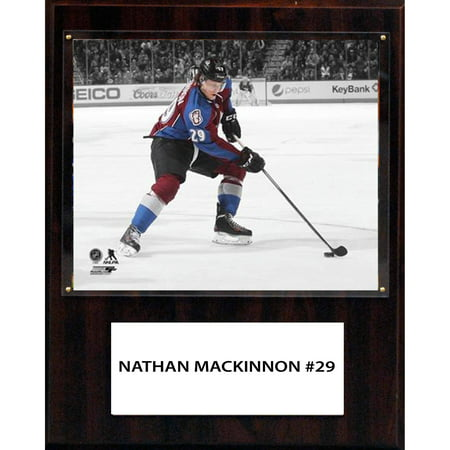 Colorado Avalanche Merchandise (C&I Collectables NHL 12x15 Nathan MacKinnon Colorado Avalanche Player Plaque )