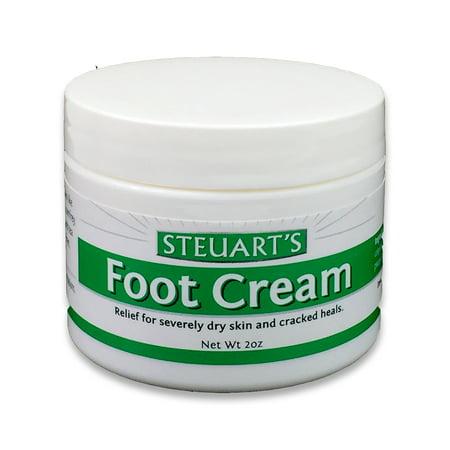 Crème Pieds Deluxe Steuart incroyable pour Heals concassé et pieds calleux secs