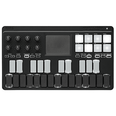 Bluetooth and USB MIDI Keyboard Controller with
