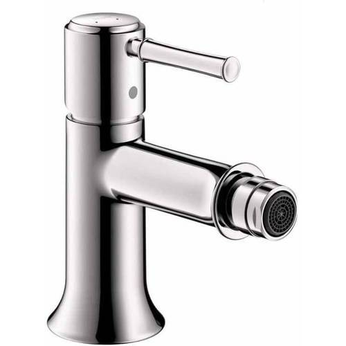 Hansgrohe 14120921 Talis C Bidet Faucet, Pop-Up Drain Assembly Included, Various Colors