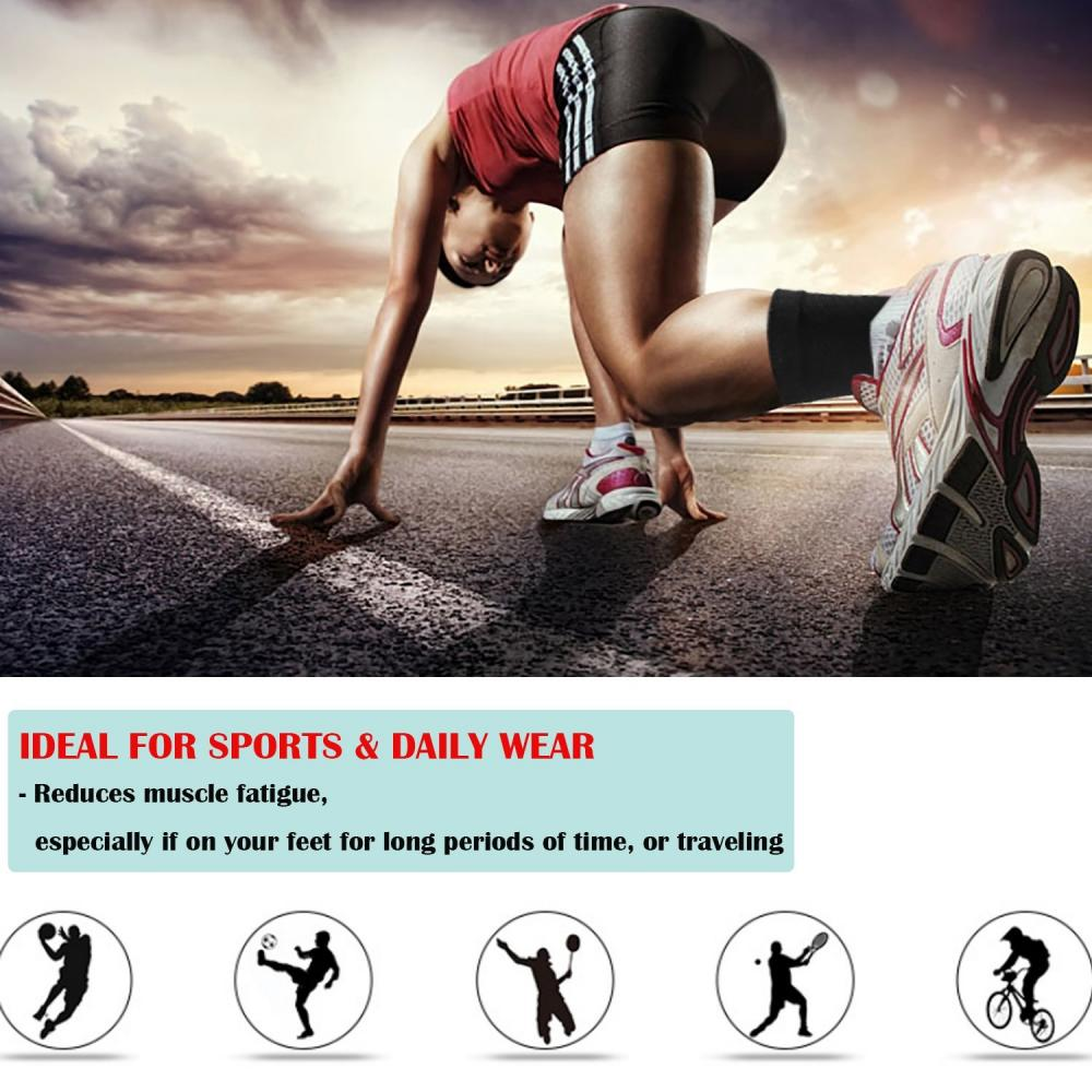 BREATHABLE ANKLE BRACE SUPPORT GUARD FOOT STRAP WRAP SPORTS INJURY