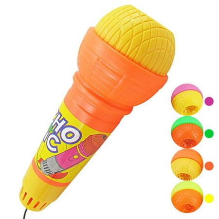 Outtop Echo Microphone Mic Voice Changer Toy Gift Birthday Present Kids Party Song - Kids Echo Microphone