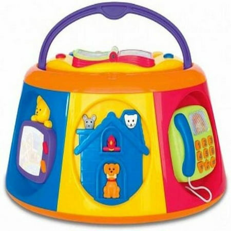 Kiddieland Toys Carry Along Activity Box Baby Toy