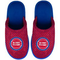 Detroit Pistons Women's Big Logo Scuff Slippers