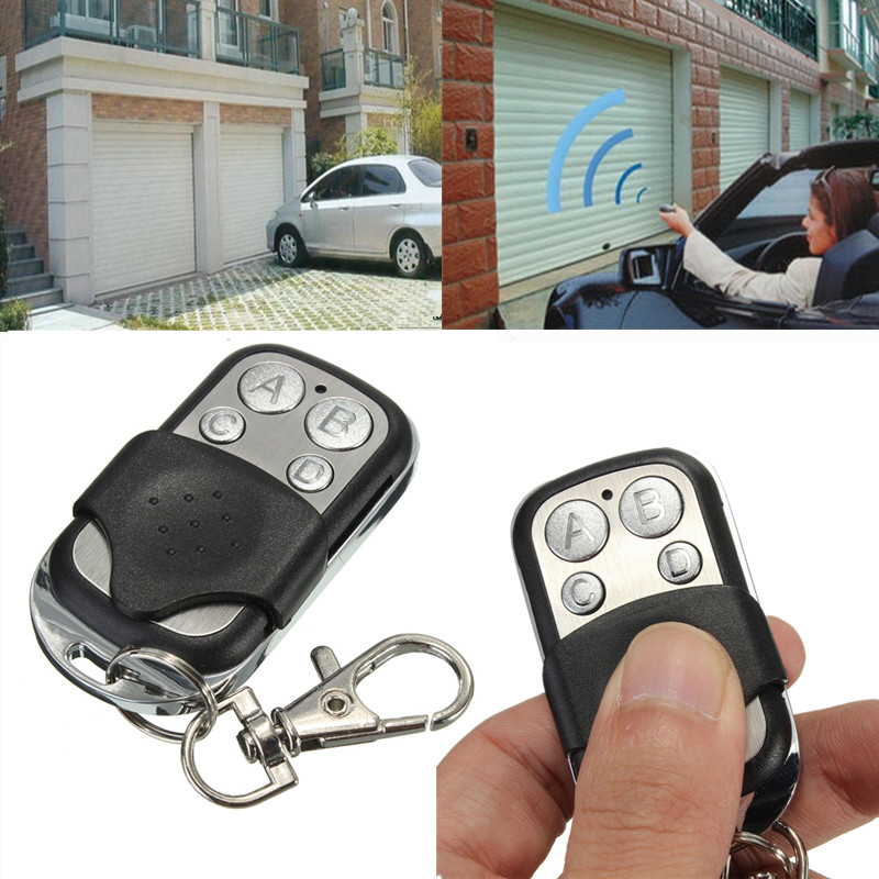 ABCD Remote Control Garage Door Electric Gate Opener Clone Key Fob Controller