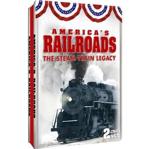 America's Railroads: The Steam Train Legacy (Tin Case)