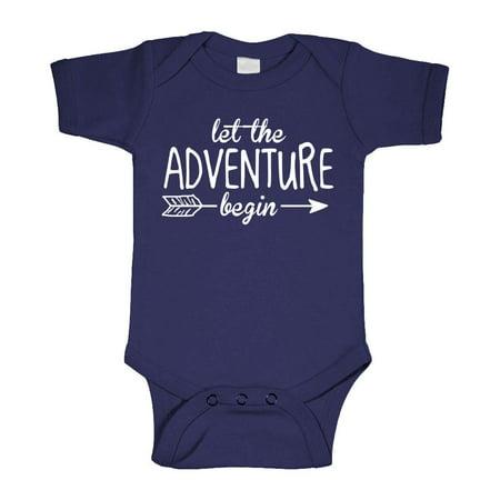 LET THE ADVENTURE BEGIN - fantasy wizard  - Cotton Infant Bodysuit](Adventure Time Onesie)