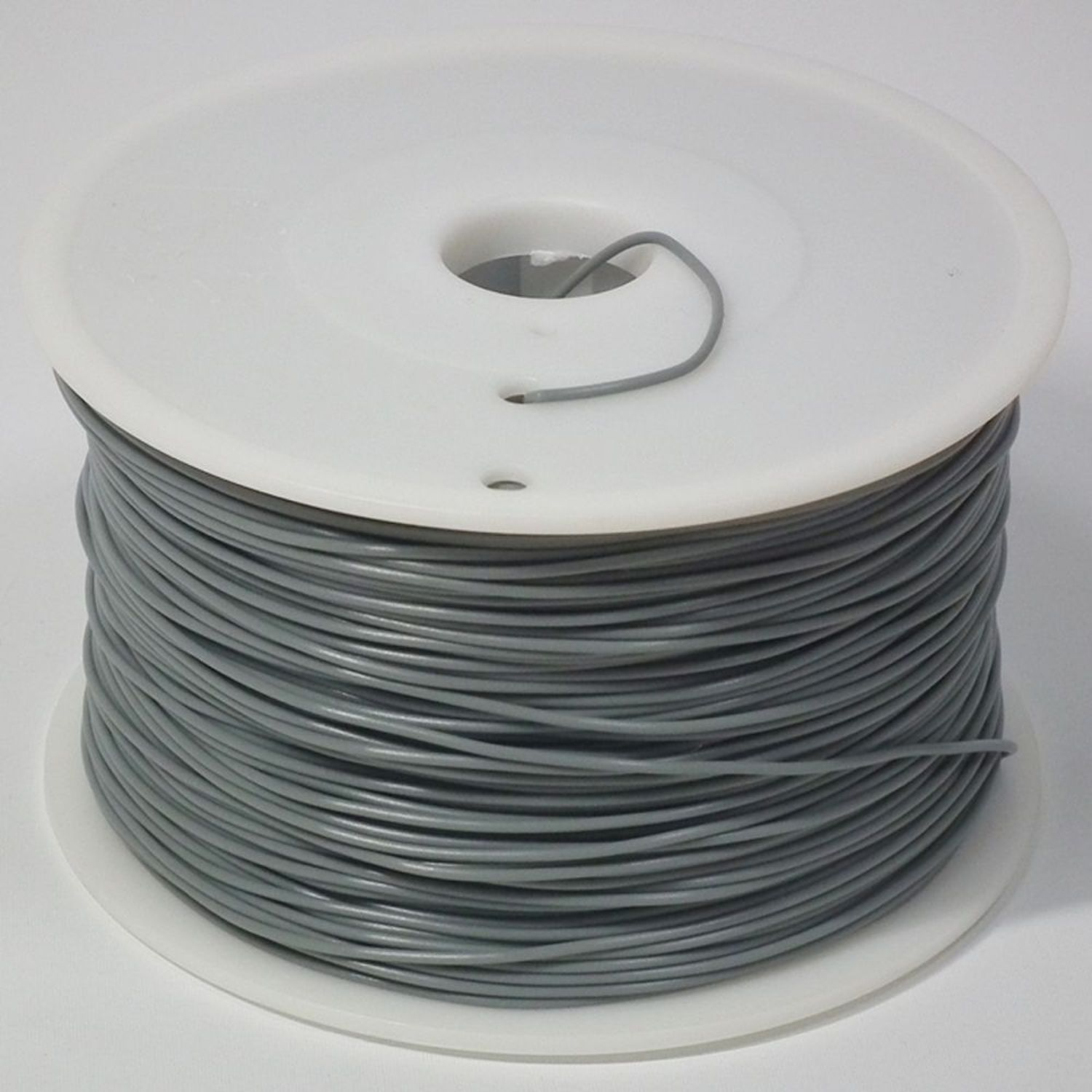 Insten 3D Filament 1.75mm PLA 1kg spool - Grey (Solid color) for 3D Printing (N3D-PLA-GY)