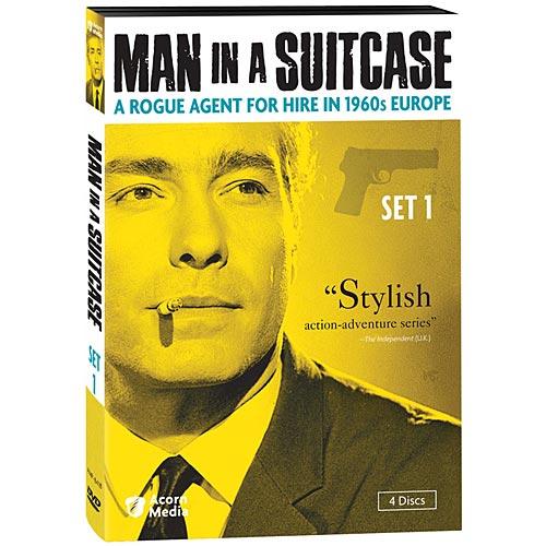 Acorn Media Man in a Suitcase: Set 1 - DVD
