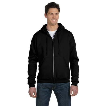 Men's Double Dry Action Fleece Full Zip Hood, Black - 3XL Champion Double Dry Hooded Jacket