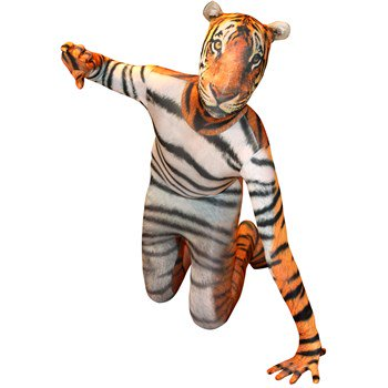 Animal Planet Tiger Morphsuit Kids Costume](Planet Costumes)