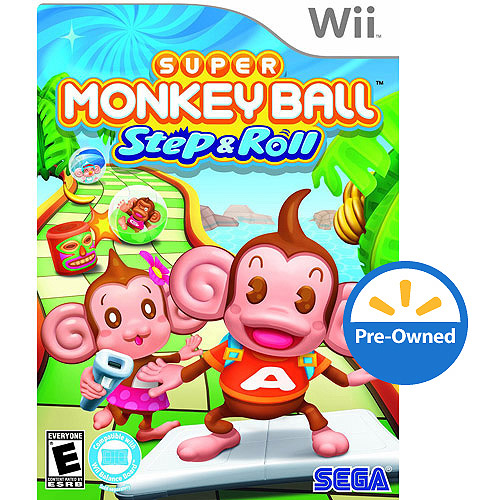 Super Monkeyball Step Roll (wii) - Pre-o