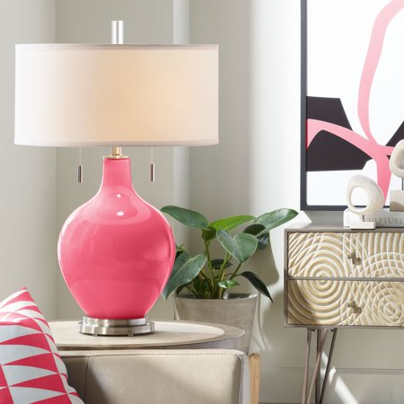 Color + Plus Eros Pink Toby Table Lamp