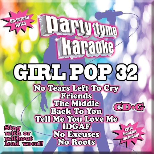 Party Tyme Karaoke: Girl Pop, Vol. 32 (CD)