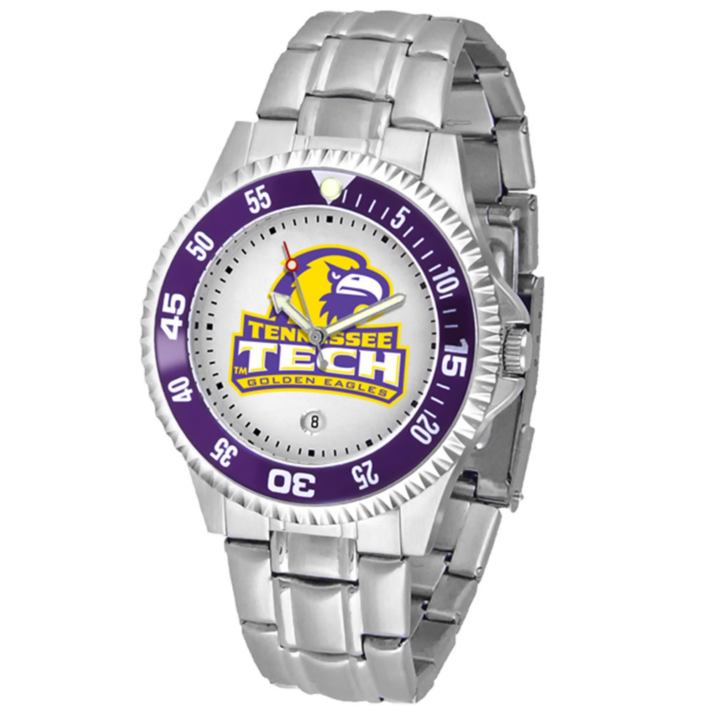 "Tennessee Tech Golden Eagles NCAA ""Competitor"" Mens Watch (Metal Band)"