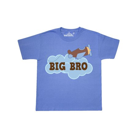 Big Bro Boys Airplane Brother Announcement Youth - Airplane Announcement