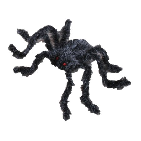 Spider Decorations For Halloween (Spooky Giant Posable Halloween Spider 30