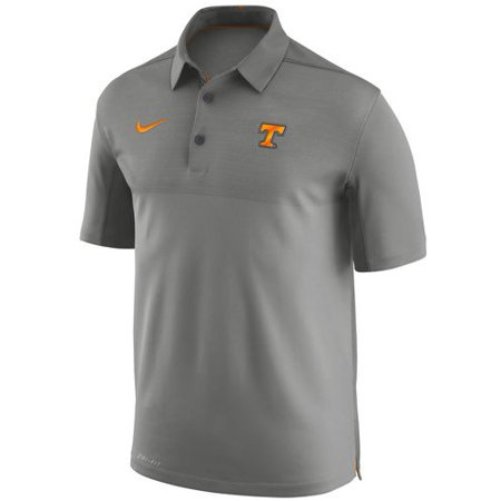 Tennessee Volunteers Nike Elite Coaches Sideline Dri-FIT Polo - Heather Gray