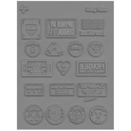 Lisa Pavelka Magic (Lisa Pavelka Texture Stamp Going Places (Style #055) - NEW)