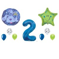 BLUES CLUES 2nd Second Birthday Party Balloons Decorations Supplies