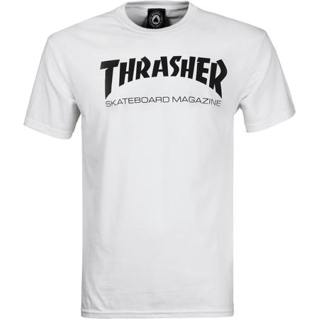 bfcc79a9b1cb Thrasher - Thrasher Skate Mag T-Shirt - Size  X-LARGE White Black ...